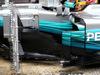 TEST F1 BARCELLONA 28 FEBBRAIO, Lewis Hamilton (GBR) Mercedes AMG F1 W08 sidepod detail. 28.02.2017.