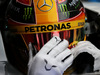 TEST F1 BARCELLONA 28 FEBBRAIO, Lewis Hamilton (GBR) Mercedes AMG F1 W08 in the pits. 28.02.2017.