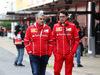 TEST F1 BARCELLONA 28 FEBBRAIO, 28.02.2017 - Maurizio Arrivabene (ITA) Ferrari Team Principal e Mattia Binotto (ITA) Chief Technical Officer, Ferrari
