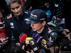 TEST F1 BARCELLONA 28 FEBBRAIO, Max Verstappen (NLD) Red Bull Racing with the media. 28.02.2017.