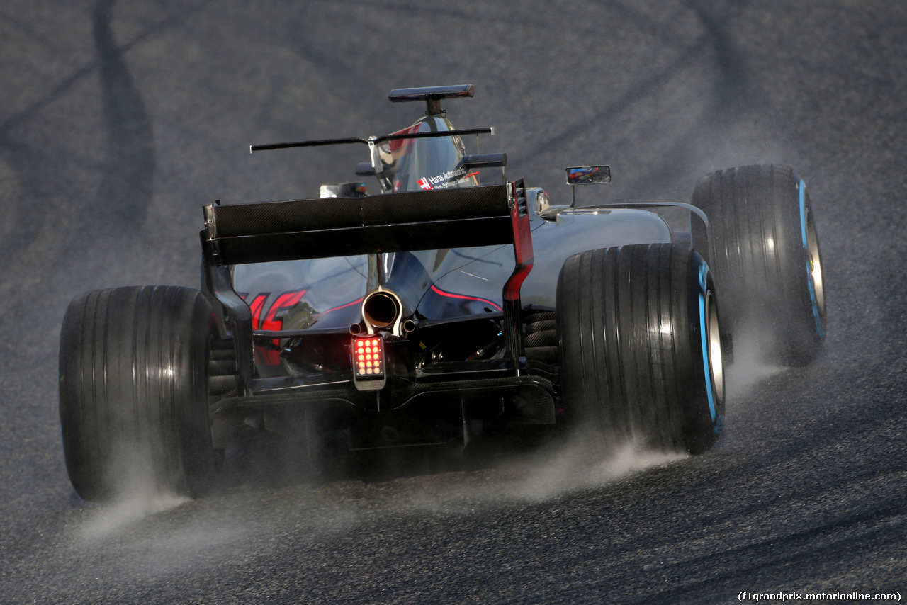 TEST F1 BARCELLONA 2 MARZO, Romain Grosjean (FRA) Haas F1 Team  02.03.2017.