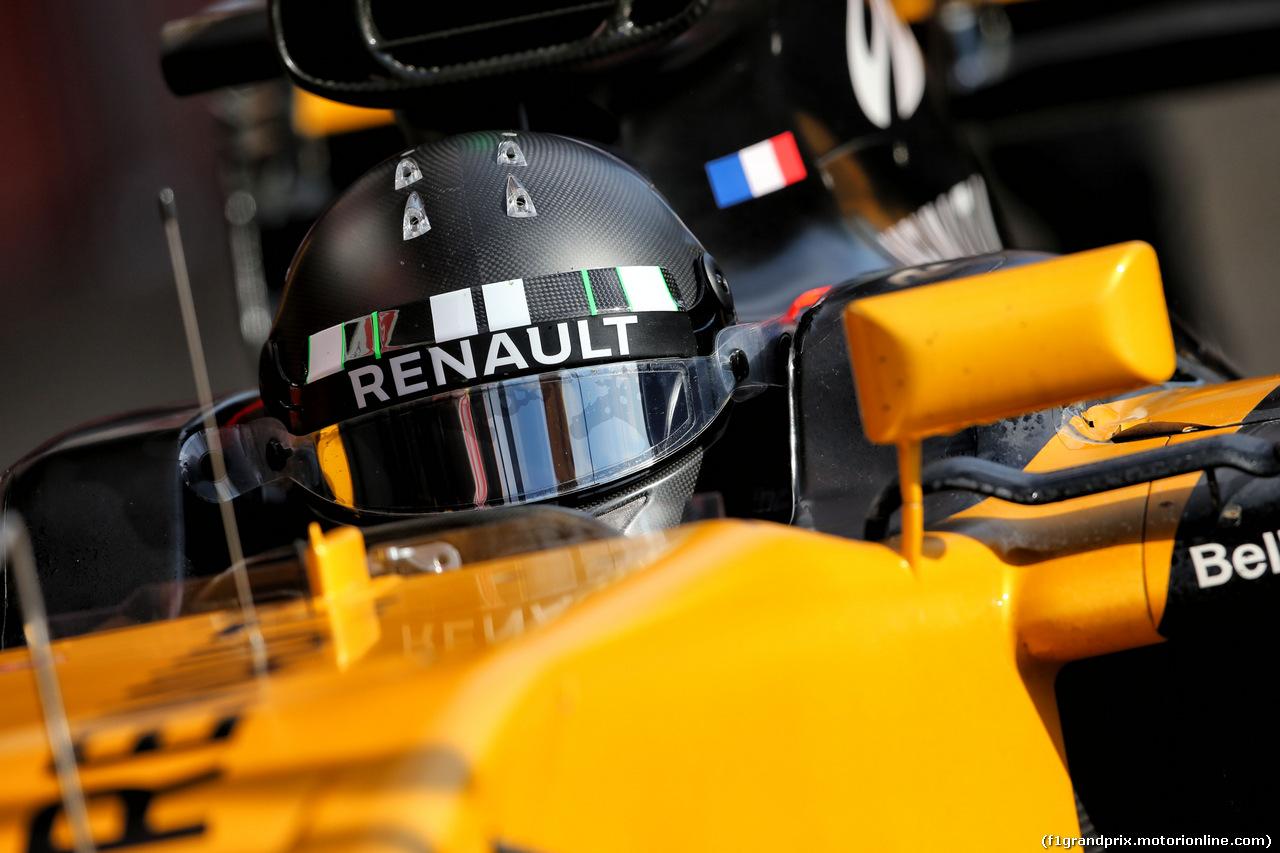 TEST F1 BARCELLONA 2 MARZO, Nico Hulkenberg (GER) Renault Sport F1 Team RS17. 02.03.2017.