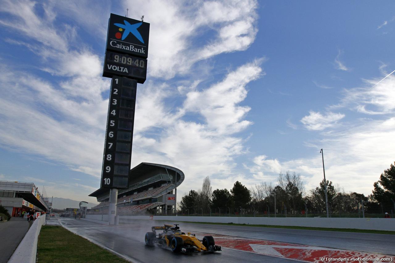 TEST F1 BARCELLONA 2 MARZO, 02.03.2017 - Nico Hulkenberg (GER) Renault Sport F1 Team RS17