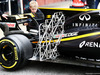 TEST F1 BARCELLONA 8 MARZO, Nico Hulkenberg (GER) Renault Sport F1 Team RS17 running sensor equipment. 08.03.2017.