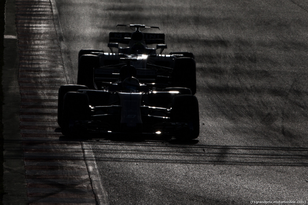 TEST F1 BARCELLONA 8 MARZO, Marcus Ericsson (SWE) Sauber C36. 07.03.2017.