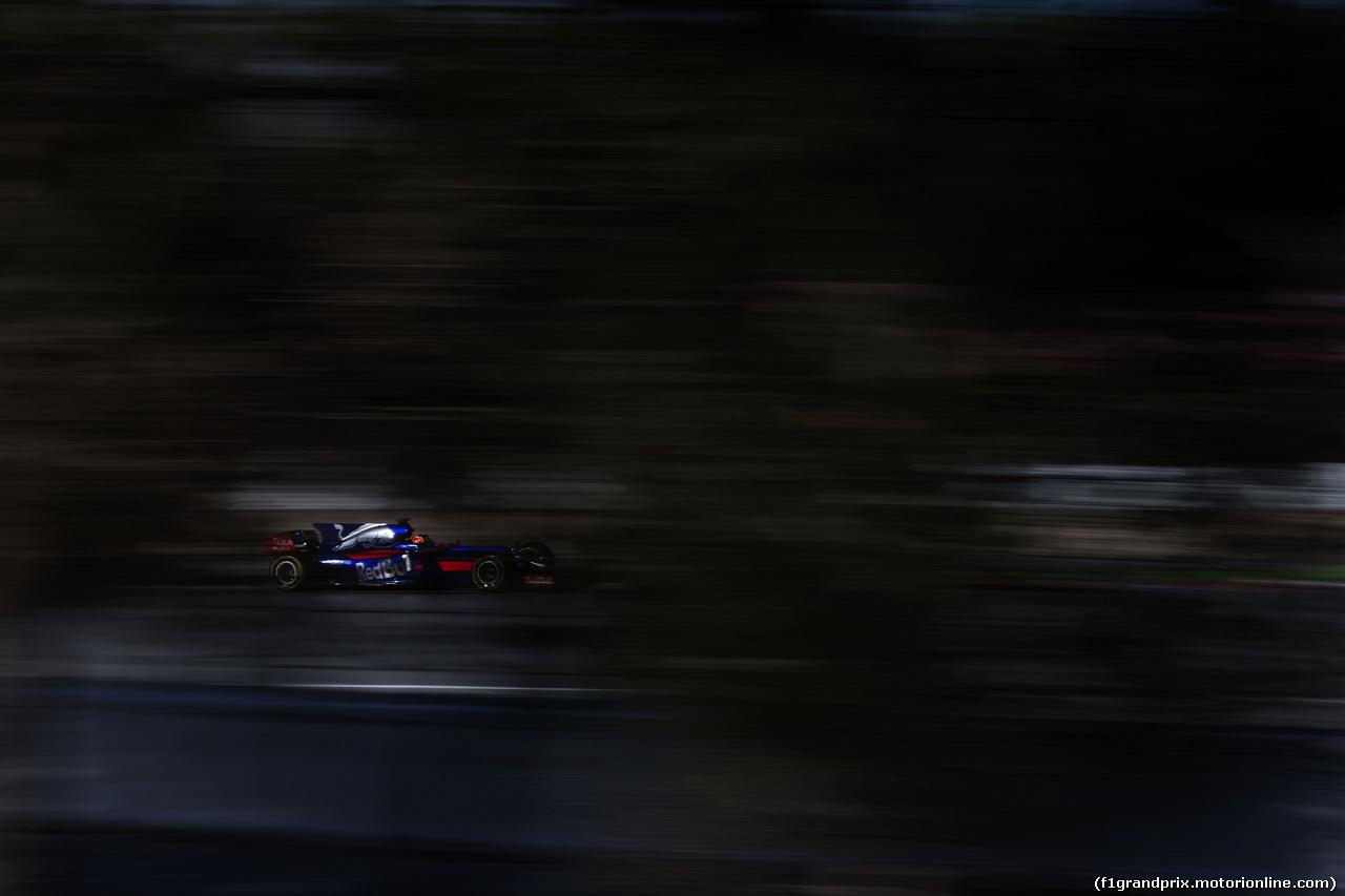 TEST F1 BARCELLONA 8 MARZO, Daniil Kvyat (RUS) Scuderia Toro Rosso STR12. 07.03.2017.