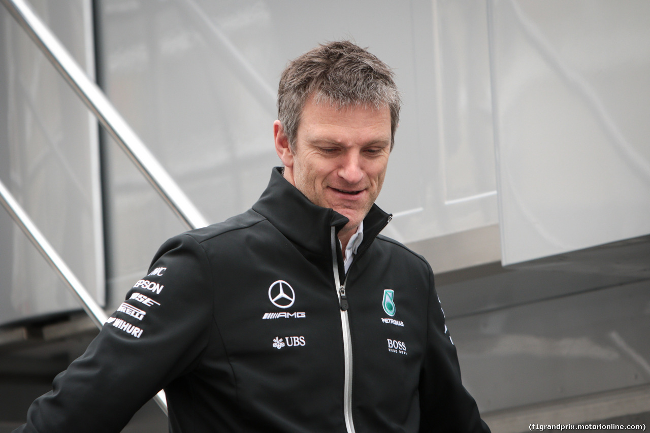 TEST F1 BARCELLONA 8 MARZO, James Allison (GBR) Mercedes AMG F1 Technical Director. 08.03.2017.