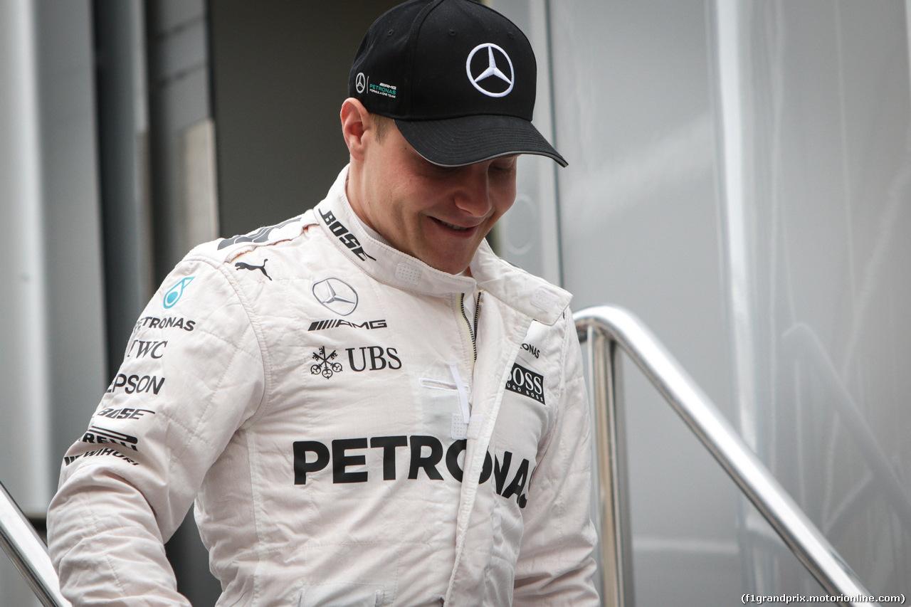 TEST F1 BARCELLONA 8 MARZO, Valtteri Bottas (FIN) Mercedes AMG F1. 08.03.2017.