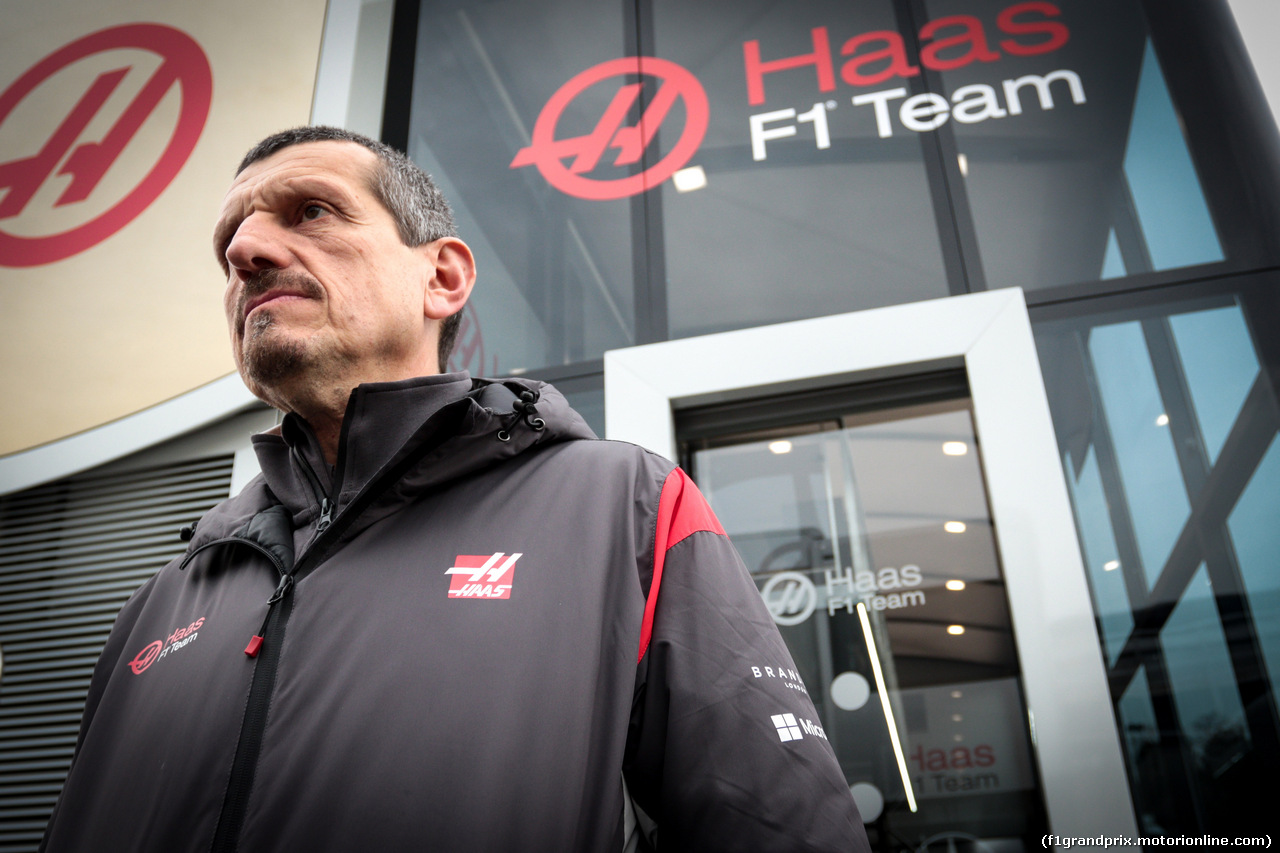 TEST F1 BARCELLONA 8 MARZO, Guenther Steiner (ITA) Haas F1 Team Prinicipal. 08.03.2017.