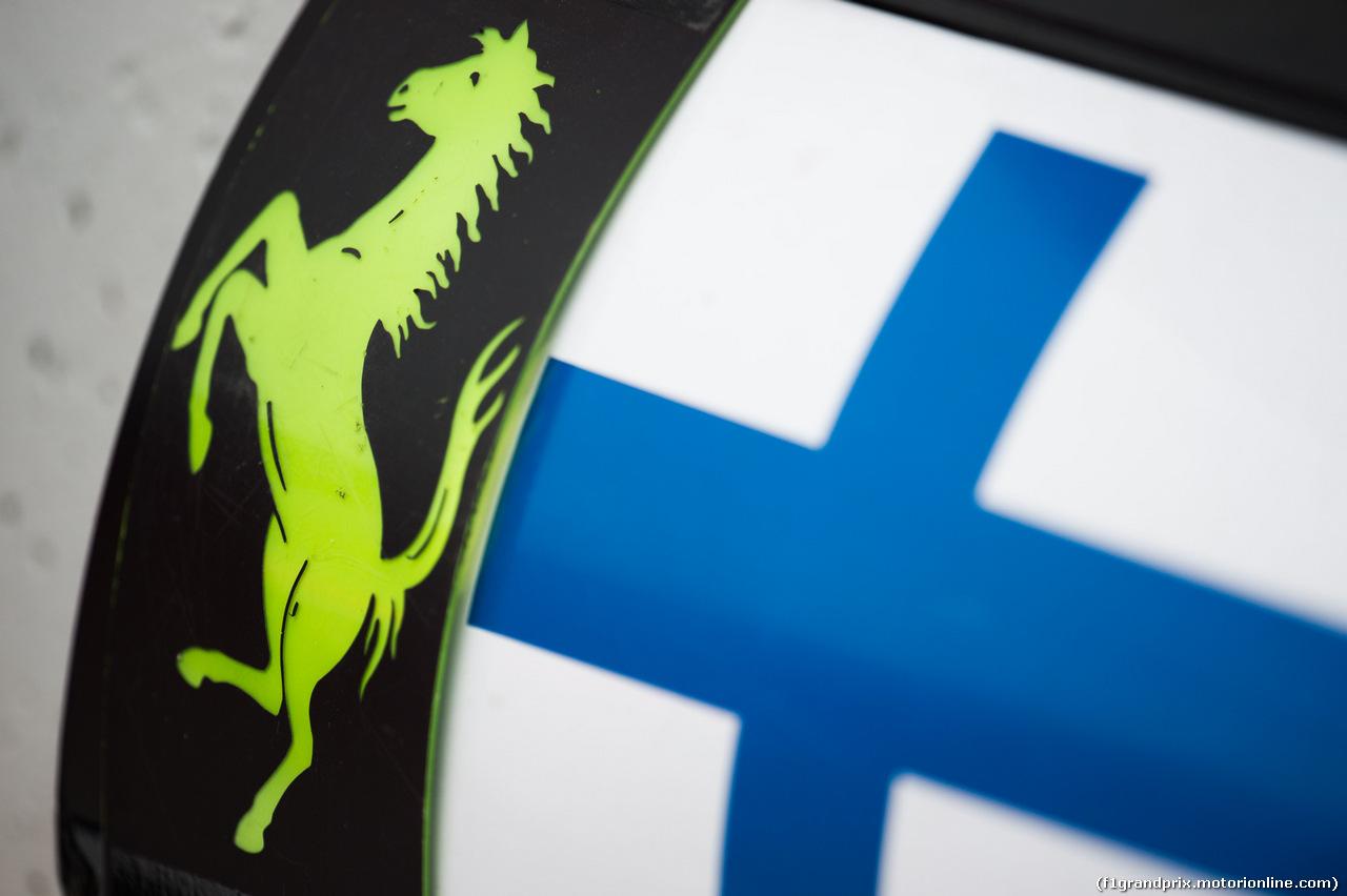 TEST F1 BARCELLONA 8 MARZO, Pit board for Kimi Raikkonen (FIN) Ferrari. 08.03.2017.