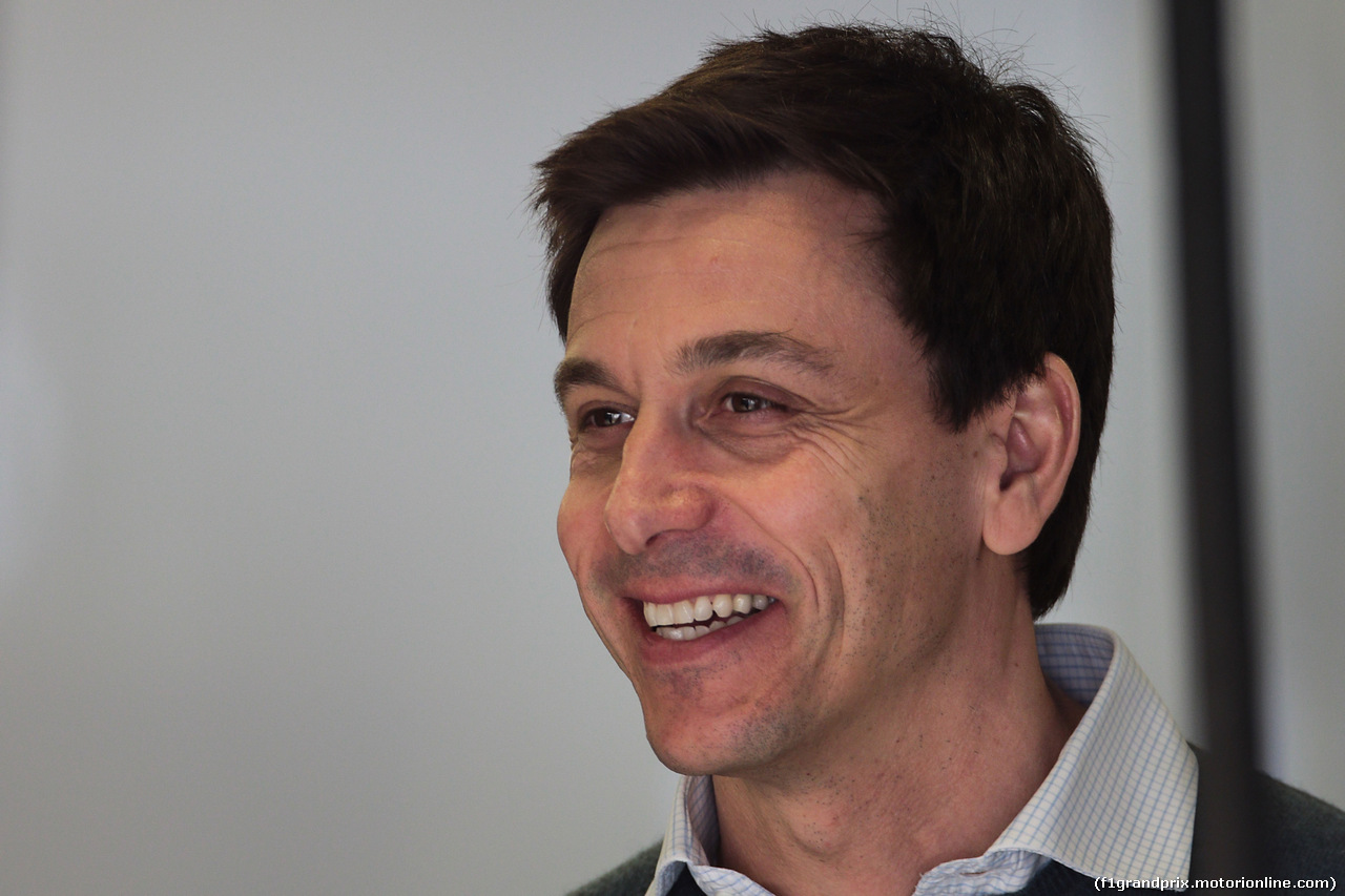 TEST F1 BARCELLONA 8 MARZO, Toto Wolff (GER) Mercedes AMG F1 Shareholder e Executive Director. 08.03.2017.