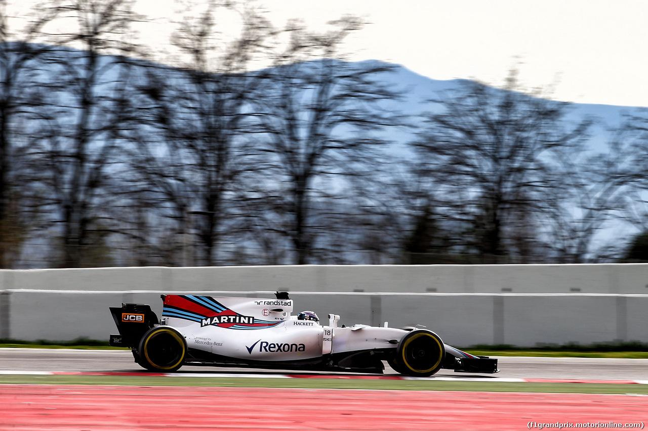 TEST F1 BARCELLONA 8 MARZO, Valtteri Bottas (FIN) Mercedes AMG F1 W08. 08.03.2017.