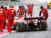 TEST F1 BARCELLONA 8 MARZO, Kimi Raikkonen (FIN) Ferrari SF70H running sensor equipment on the rear wing. 08.03.2017.