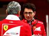TEST F1 BARCELLONA 8 MARZO, Mattia Binotto (ITA) Ferrari Chief Technical Officer with Maurizio Arrivabene (ITA) Ferrari Team Principal. 08.03.2017.
