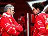 TEST F1 BARCELLONA 8 MARZO, (L to R): Maurizio Arrivabene (ITA) Ferrari Team Principal with Mattia Binotto (ITA) Ferrari Chief Technical Officer. 08.03.2017.