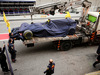 TEST F1 BARCELLONA 8 MARZO, The Red Bull Racing RB13 of Max Verstappen (NLD) Red Bull Racing is recovered back to the pits on the back of a truck. 08.03.2017.