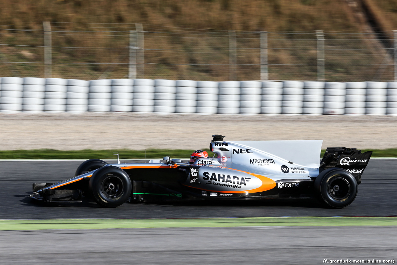 TEST F1 BARCELLONA 9 MARZO, Esteban Ocon (FRA) Sahara Force India F1 VJM10. 09.03.2017.