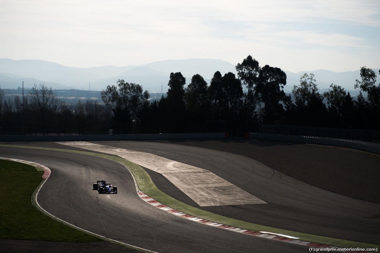 TEST F1 BARCELLONA 9 MARZO, Marcus Ericsson (SWE) Sauber C36. 09.03.2017.