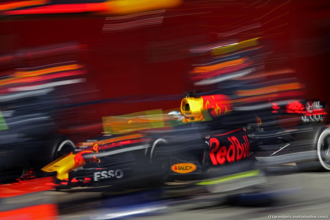 TEST F1 BARCELLONA 9 MARZO, Daniel Ricciardo (AUS) Red Bull Racing  09.03.2017.