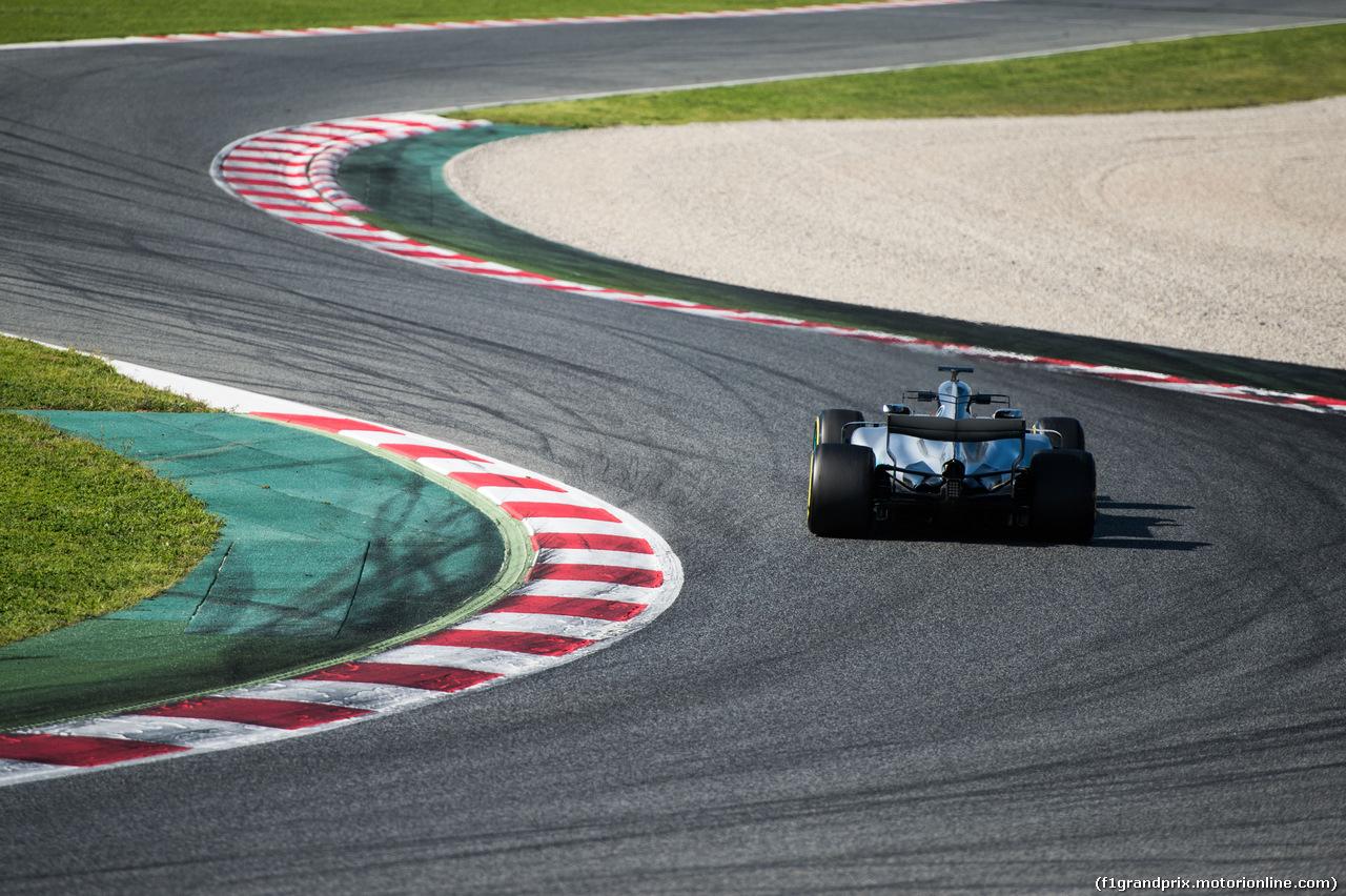 TEST F1 BARCELLONA 9 MARZO, Valtteri Bottas (FIN) Mercedes AMG F1 W08. 09.03.2017.