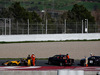 TEST F1 BARCELLONA 9 MARZO, Jolyon Palmer (GBR) Renault Sport F1 Team RS17 stops on the circuit. 09.03.2017.