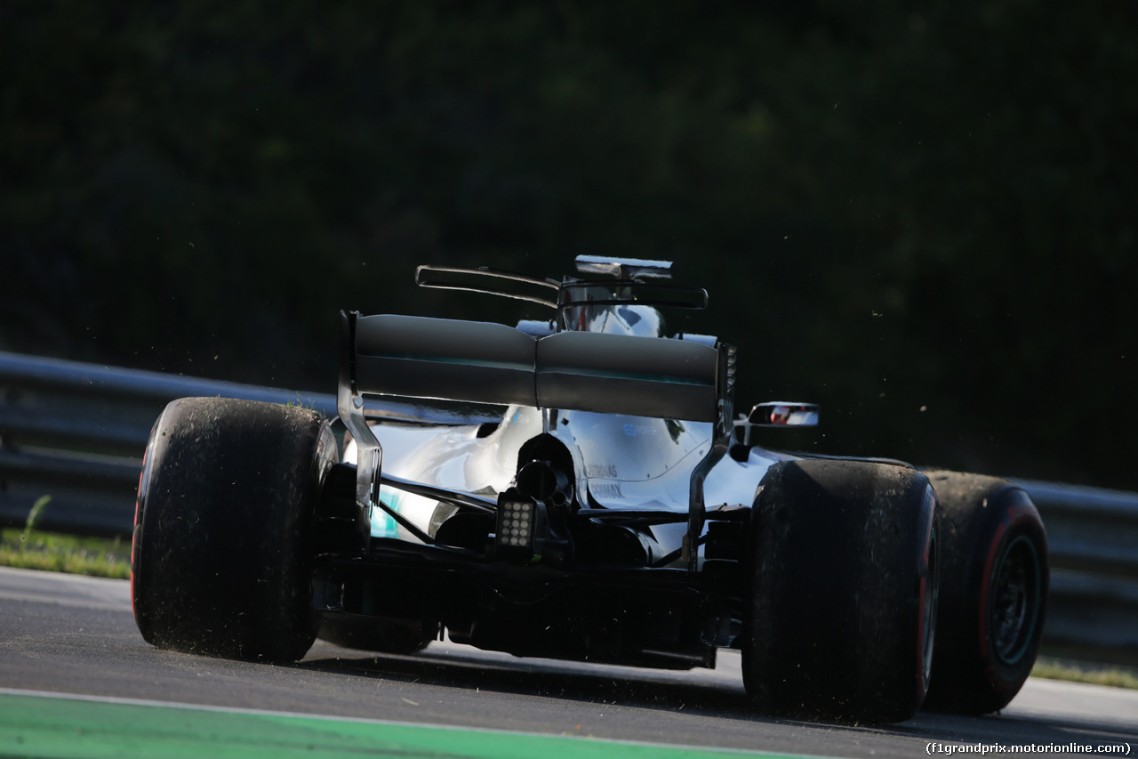 TEST F1 BUDAPEST 02 AGOSTO, George Russell (GBR) Mercedes AMG F1 W08 Test Driver. 01.08.2017.