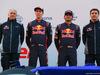 TORO ROSSO STR12, (L to R): Franz Tost (AUT) Scuderia Toro Rosso Team Principal; Daniil Kvyat (RUS) Scuderia Toro Rosso; Carlos Sainz Jr (ESP) Scuderia Toro Rosso; James Key (GBR) Scuderia Toro Rosso Technical Director. 26.02.2017.