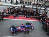 TORO ROSSO STR12, Daniil Kvyat (RUS) Scuderia Toro Rosso e team mate Carlos Sainz Jr (ESP) Scuderia Toro Rosso unveil the Scuderia Toro Rosso STR12. 26.02.2017.