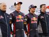 TORO ROSSO STR12, 26.02.2017 - (L-R) Franz Tost, Scuderia Toro Rosso, Team Principal, Daniil Kvyat (RUS) Scuderia Toro Rosso STR12, Carlos Sainz Jr (ESP) Scuderia Toro Rosso STR12 e James Key (GBR) Scuderia Toro Rosso Technical Director