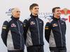 TORO ROSSO STR12, 26.02.2017 - (L-R) Franz Tost, Scuderia Toro Rosso, Team Principal e James Key (GBR) Scuderia Toro Rosso Technical Director