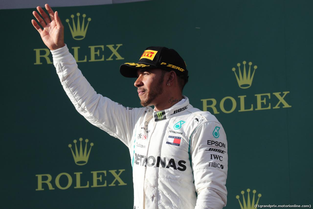 GP AUSTRALIA, 25.03.2018 - Gara, 2nd place Lewis Hamilton (GBR) Mercedes AMG F1 W09