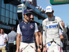 GP AUSTRALIA, 25.03.2018 - Lance Stroll (CDN) Williams FW41 e Esteban Ocon (FRA) Sahara Force India F1 VJM11