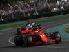 GP AUSTRALIA, 25.03.2018 - Gara, Sebastian Vettel (GER) Ferrari SF71H davanti a Lewis Hamilton (GBR) Mercedes AMG F1 W09