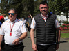 GP AUSTRALIA, 22.03.2018 - Zak Brown (USA) McLaren Executive Director e Eric Boullier (FRA) McLaren Racing Director