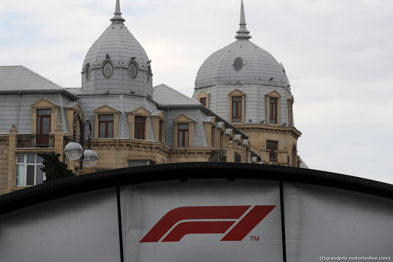 GP AZERBAIJAN, 29.04.2018 - Circuit Atmosphere