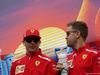 GP AZERBAIJAN, 29.04.2018 - Kimi Raikkonen (FIN) Ferrari SF71H e Sebastian Vettel (GER) Ferrari SF71H