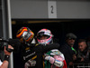 GP AZERBAIJAN, 29.04.2018 - Gara, Carlos Sainz Jr (ESP) Renault Sport F1 Team RS18 e 3rd place Sergio Perez (MEX) Sahara Force India F1 VJM011
