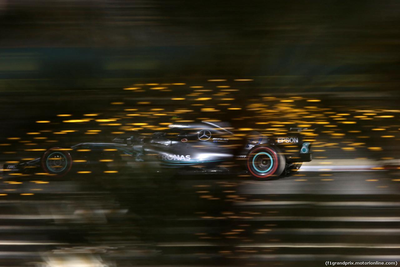 GP BAHRAIN, 08.04.2018 - Gara, Valtteri Bottas (FIN) Mercedes AMG F1 W09