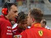 GP BAHRAIN, 08.04.2018 - Gara, Riccardo Adami (ITA) Ferrari Gara Engineer, Antti Kontsas (FIN) Sebastian Vettel Personal Trainer e Sebastian Vettel (GER) Ferrari SF71H