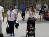 GP BAHRAIN, 05.05.2018 - Claire Williams (GBR) Williams Deputy Team Principal with her baby son Nathanial (Nate)