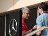 GP BAHRAIN, 05.05.2018 - Maurizio Arrivabene (ITA) Ferrari Team Principal e Toto Wolff (GER) Mercedes AMG F1 Shareholder e Executive Director