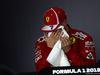 GP BAHRAIN, 07.04.2018 -  Qualifiche, Conferenza Stampa, Kimi Raikkonen (FIN) Ferrari SF71H