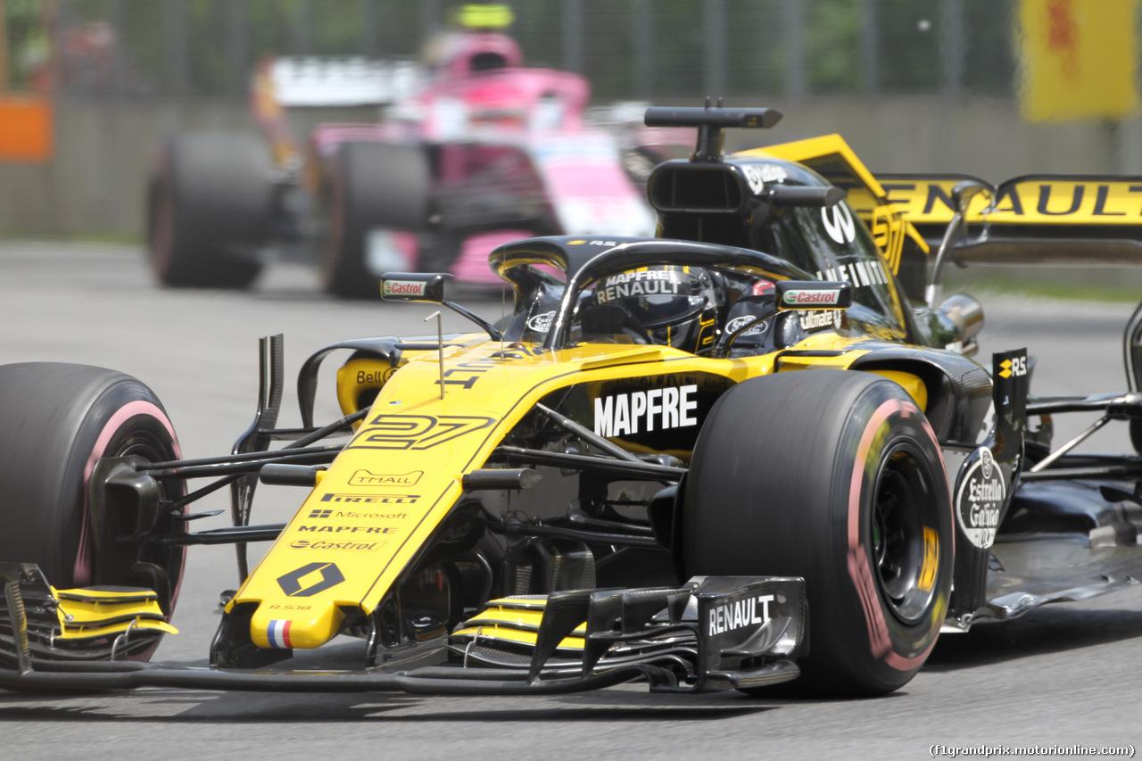 GP CANADA, 10.06.2018- Gara, Nico Hulkenberg (GER) Renault Sport F1 Team RS18