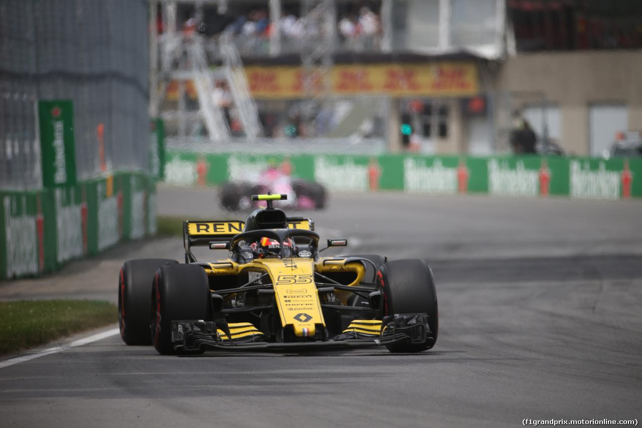 GP CANADA, 10.06.2018- Gara, Carlos Sainz Jr (ESP) Renault Sport F1 Team RS18