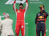 GP CANADA, 10.06.2018- Podium, winner Sebastian Vettel (GER) Ferrari SF71H, 2nd plcae Valtteri Bottas (FIN) Mercedes AMG F1 W09, 3rd place Max Verstappen (NED) Red Bull Racing RB14