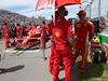 GP CANADA, 10.06.2018- the partenzaing grid: Kimi Raikkonen (FIN) Ferrari SF71H