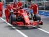GP CANADA, 07.06.2018 - Kimi Raikkonen (FIN) Ferrari SF71H go to technical checks