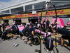 GP CANADA, 07.06.2018 - Esteban Ocon (FRA) Sahara Force India F1 VJM11 ppit stop practice