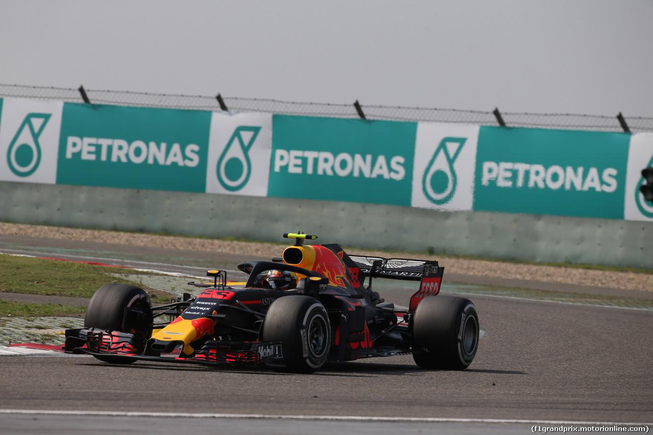 GP CINA, 15.04.2018- Gara, Max Verstappen (NED) Red Bull Racing RB14