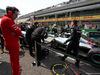 GP CINA, 15.04.2018- Starting grid, Mattia Binotto (ITA) Ferrari Chief Technical Officer take a looks to Lewis Hamilton (GBR) Mercedes AMG F1 W09